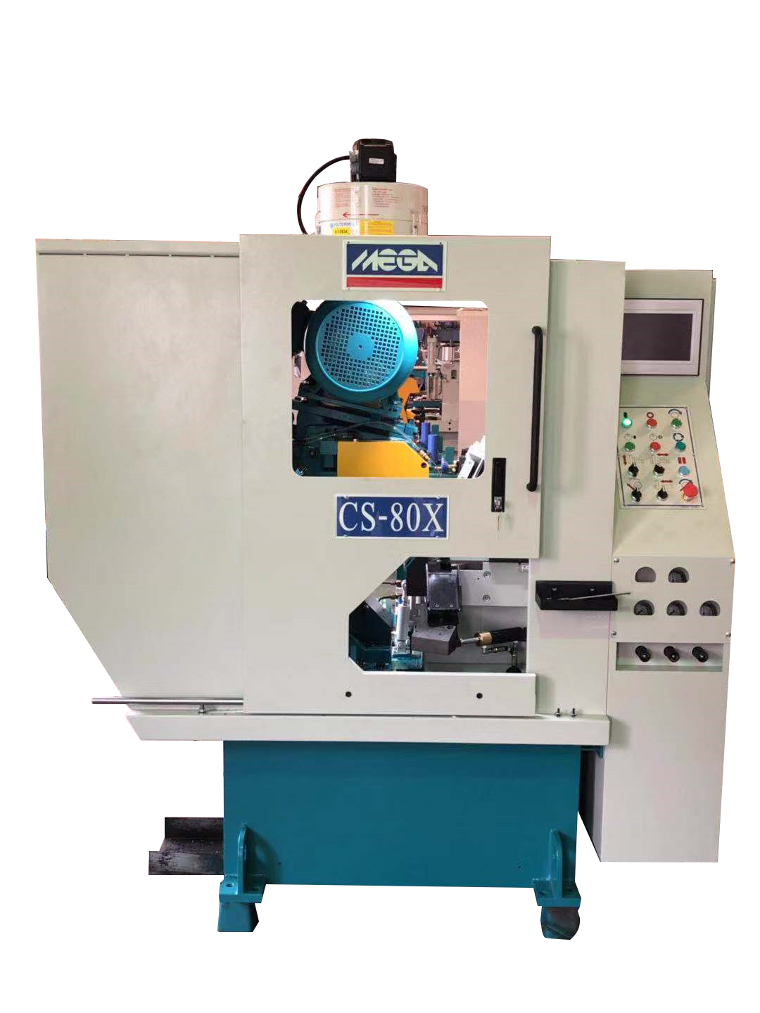NC HIGH SPEED HEAVY DUTY CARBIDE CIRCULAR SAWING MACHINE