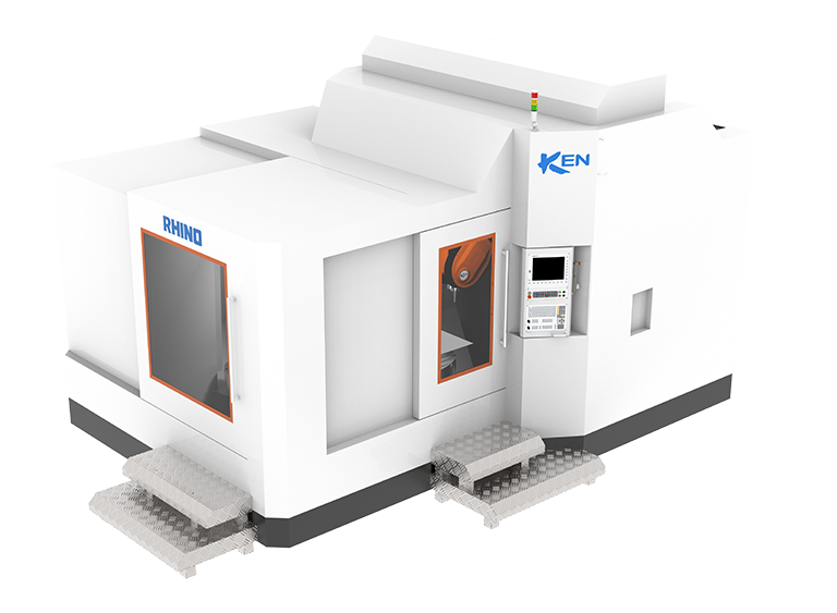 Horizontal 5-Axis Machining Center(Rhino)