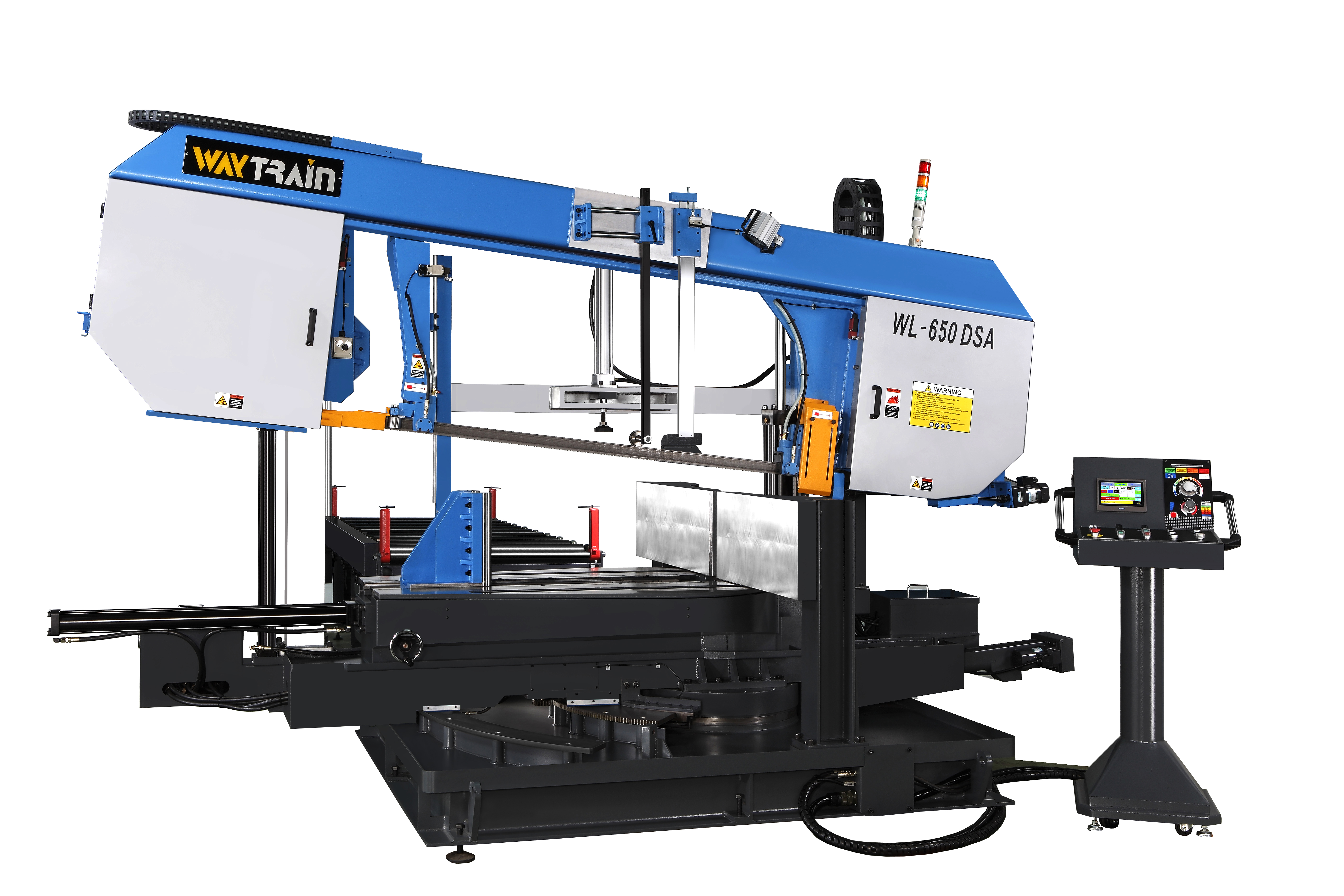 Double Miter Cutting Band Saw