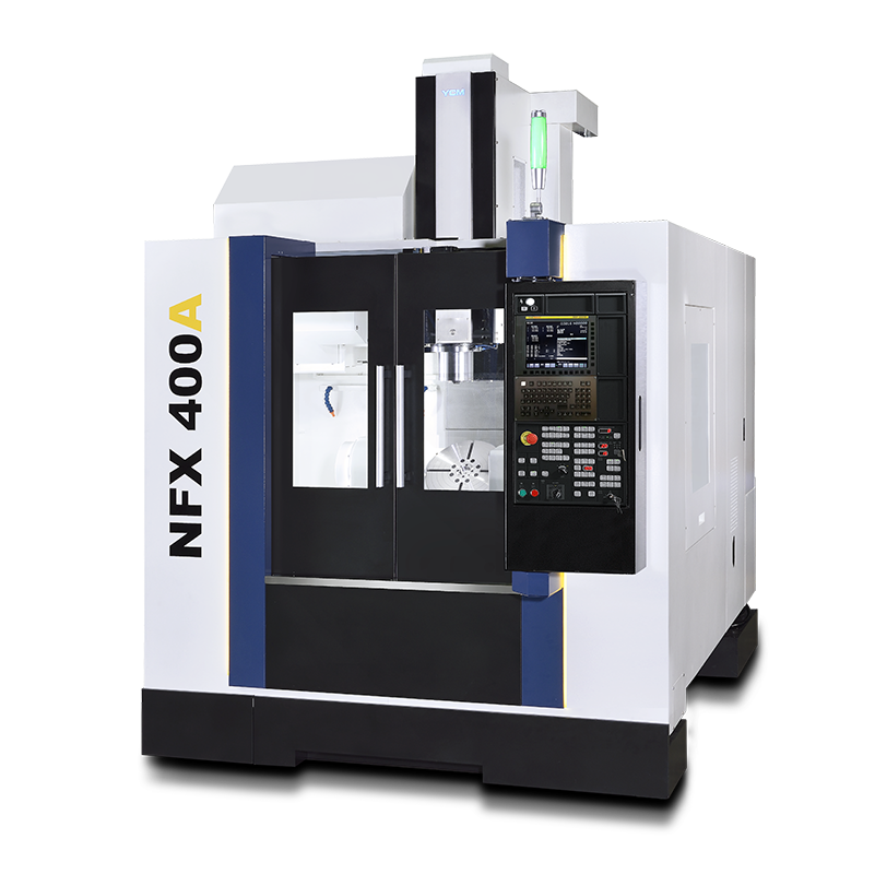 NFX400A - High Productivity Full 5-Axis and 5-Face Vertical Machining Center