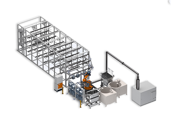 Automatic Solution for Investment Casting