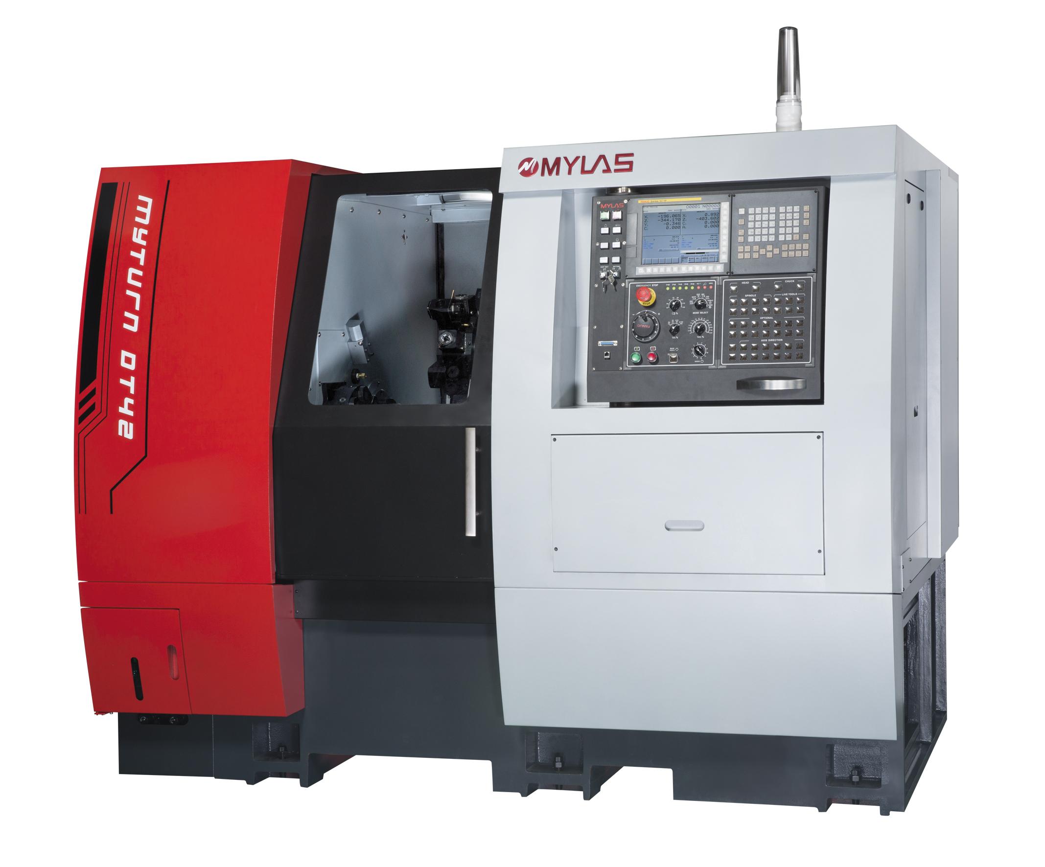 DT52 Dual Turret CNC Automatic Lathe
