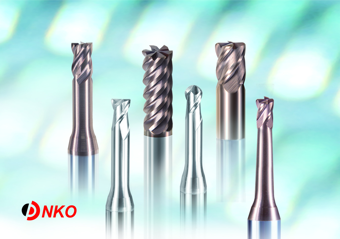 End mills for Mould making