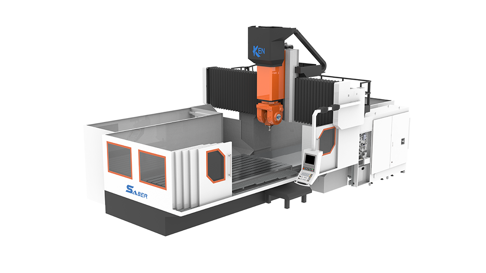 Double Column High Torque 5-Axis Machining Center(Saber)