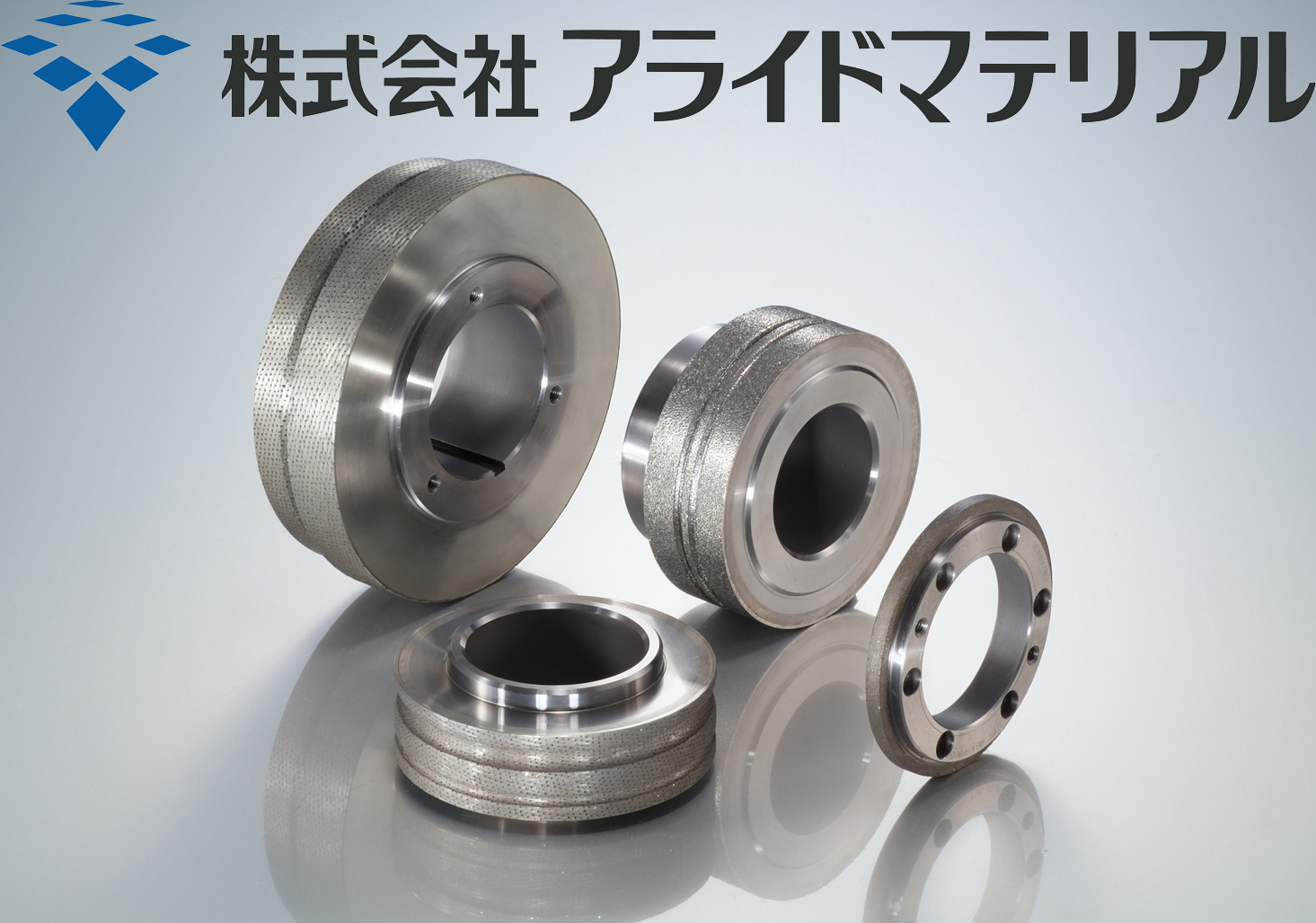 The diamond&CBN products for grinding&cutting tools from A.L.M.T Co.,Ltd