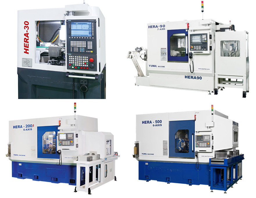 High Precision, High Performance, Full CNC Gear Hobbing Machine HERA Series