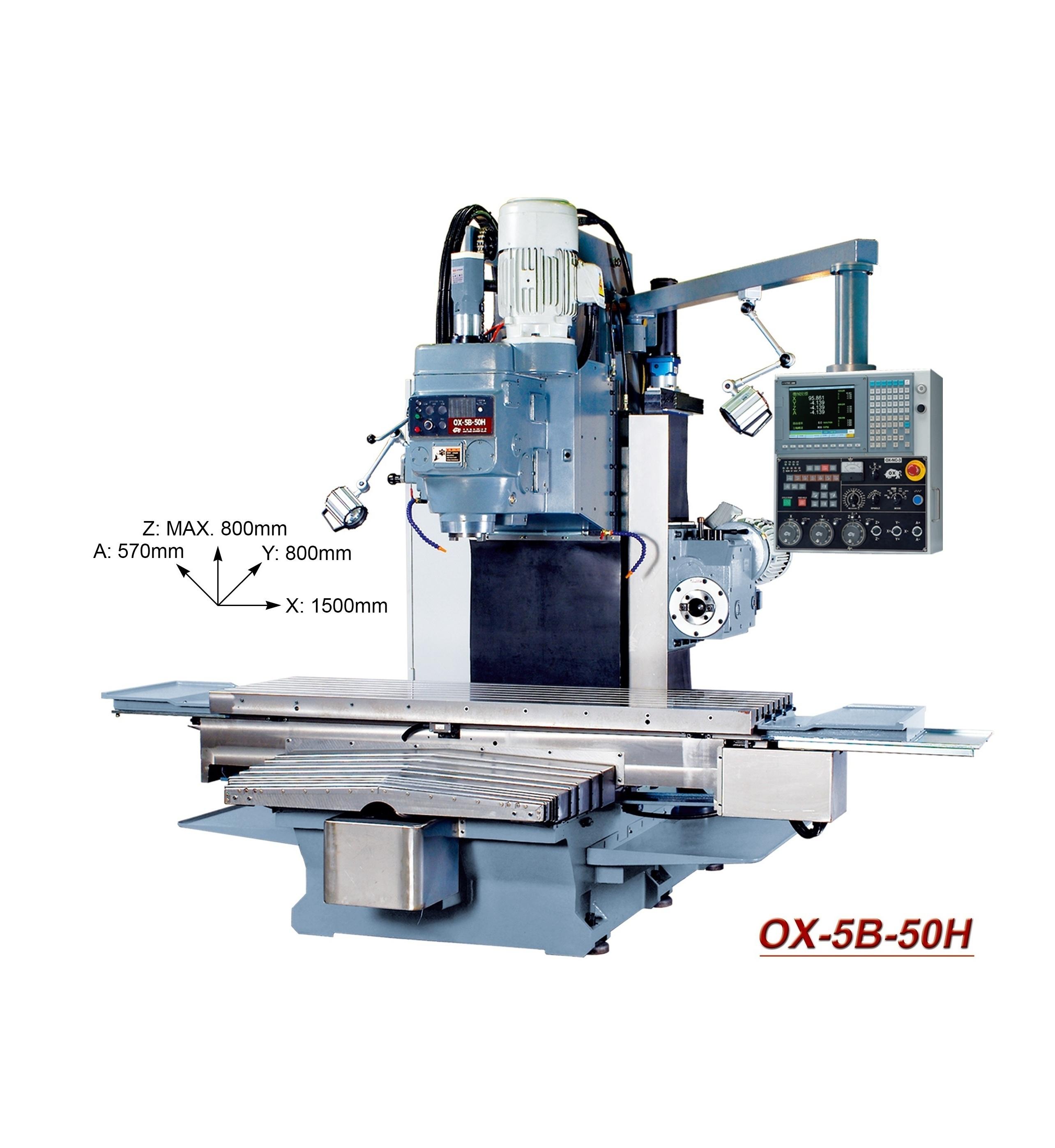 OX-CNC milling machine  OX-5B-50H
