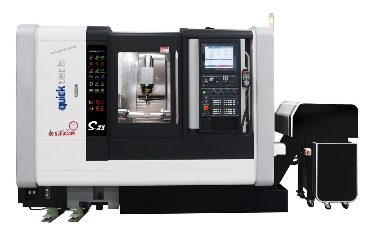 CNC multi-tasking lathe