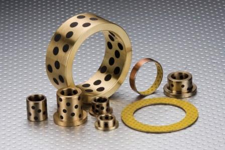 Copper self-lubricating bearings