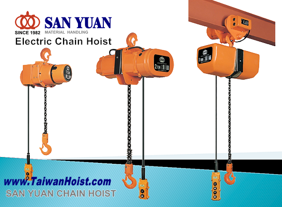 SAN YUAN Electrical Chain Hoist