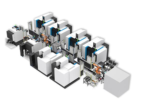 機械加工製程智動化