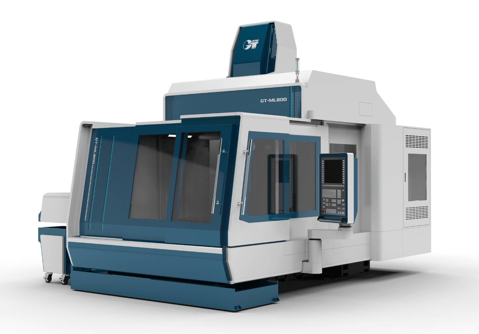 Double Column Turning Milling Complex Machine