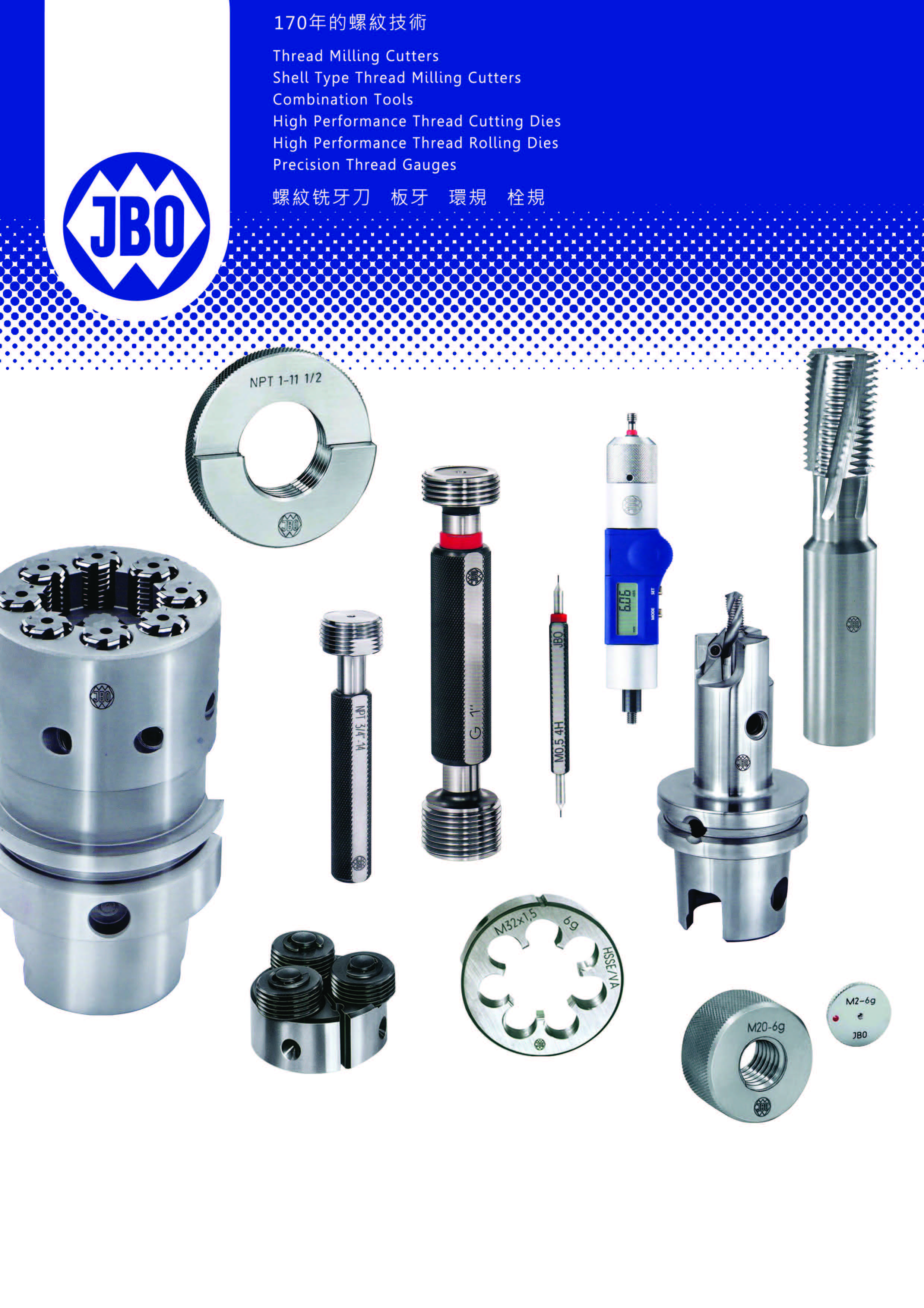 "JBO Precision Tools ""Made in Germany"""