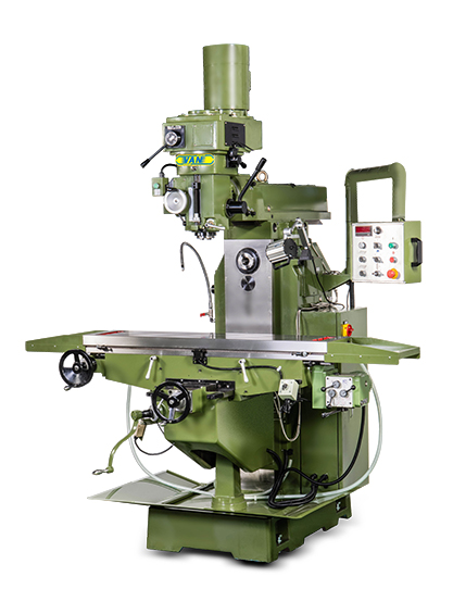 VERTICAL-HORIZONTAL TURRET MILLING MACHINE(YSM-28 SERIES)