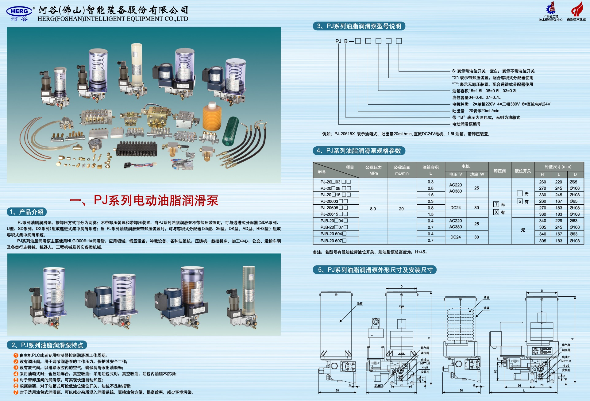 Grease Catridge and filled grease lubrication pumps