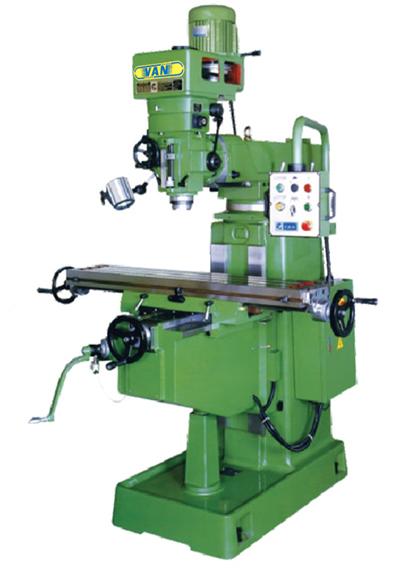 VERTICAL TURRET MILLING MACHINE(YSM-18 SERIES)