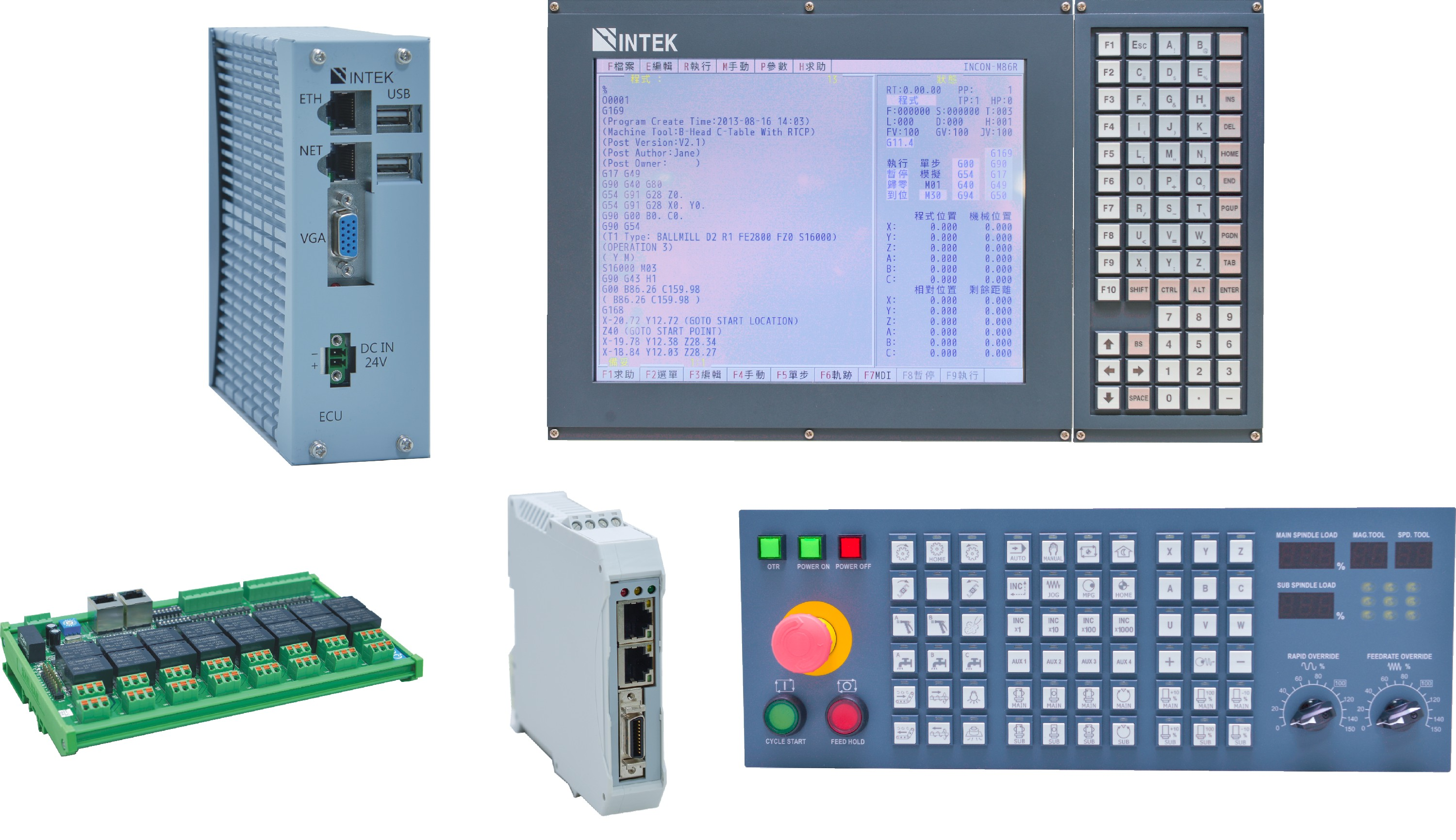 EtherCAT Milling CNC Controller