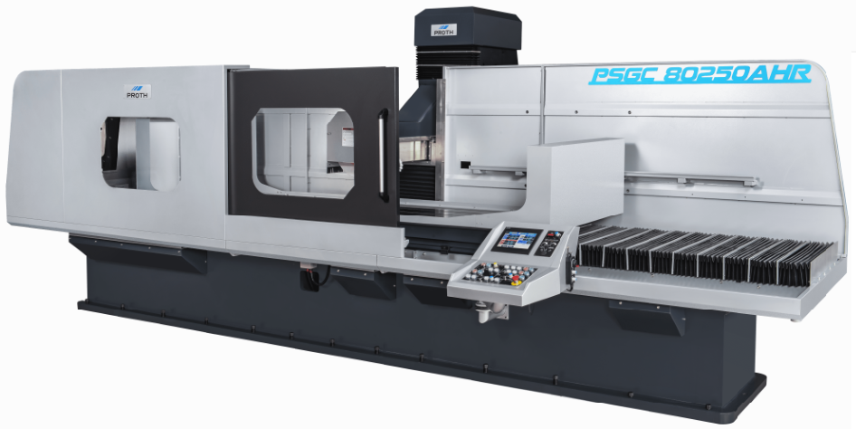 Medium-sized vertical column type surface grinder : PSGC-80250AHR