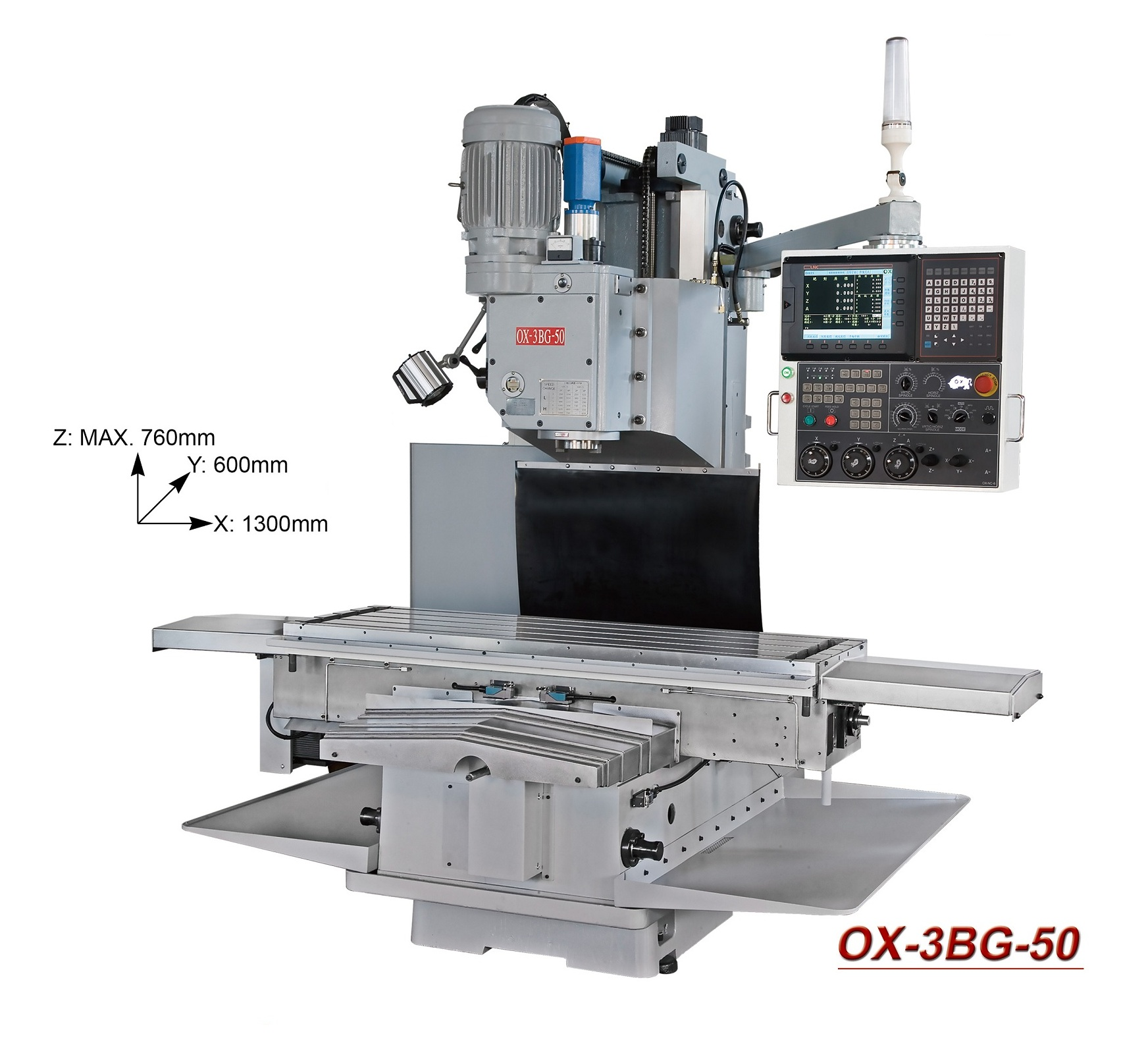 OX- CNC milling machine  OX-3BG-50