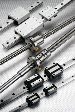 Linear Motion Guide、Ball Screws
