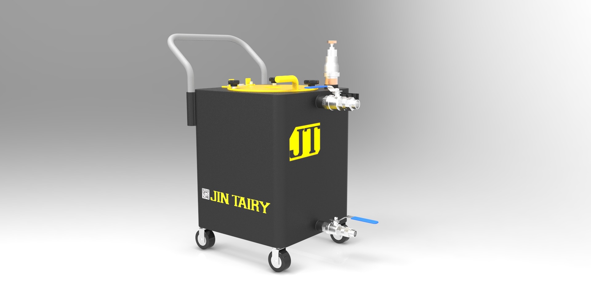 PNEUMATIC DRY/WET CHIP SUCTION MACHINE
