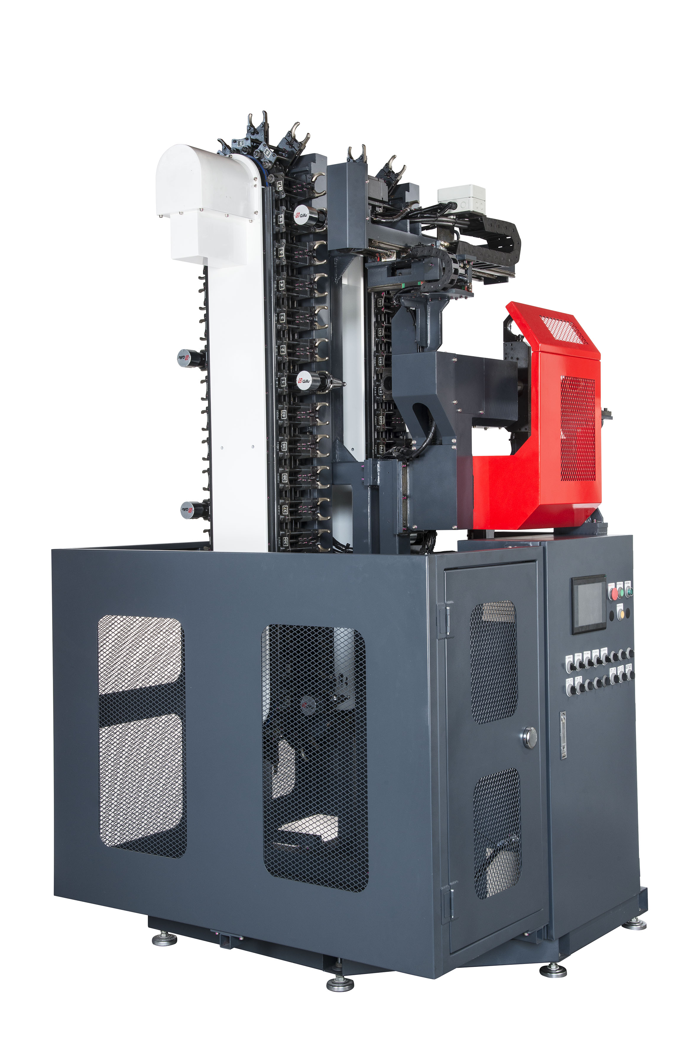 High capacity and expandable multiple tool changer