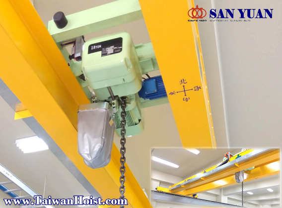 SAN YUAN Electrical Chain Hoist  Large Capacity