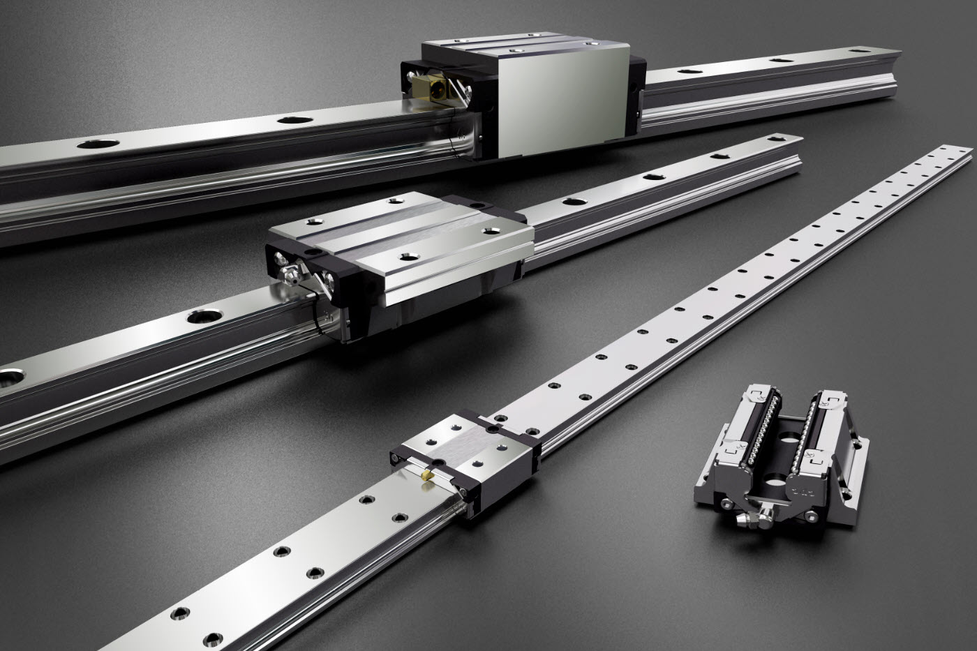Standard 4-Row Ball & Roller-type Linear Guide