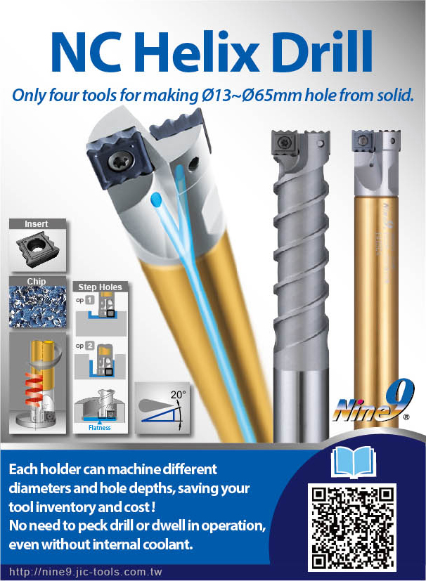 Nine_9 NC Helix Drill