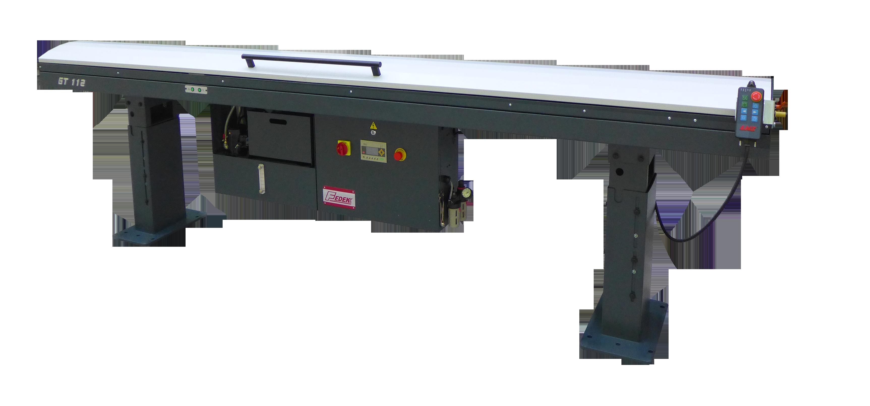 GT 112 Automatic Hydraulic Bar Feeders - Long Barstock