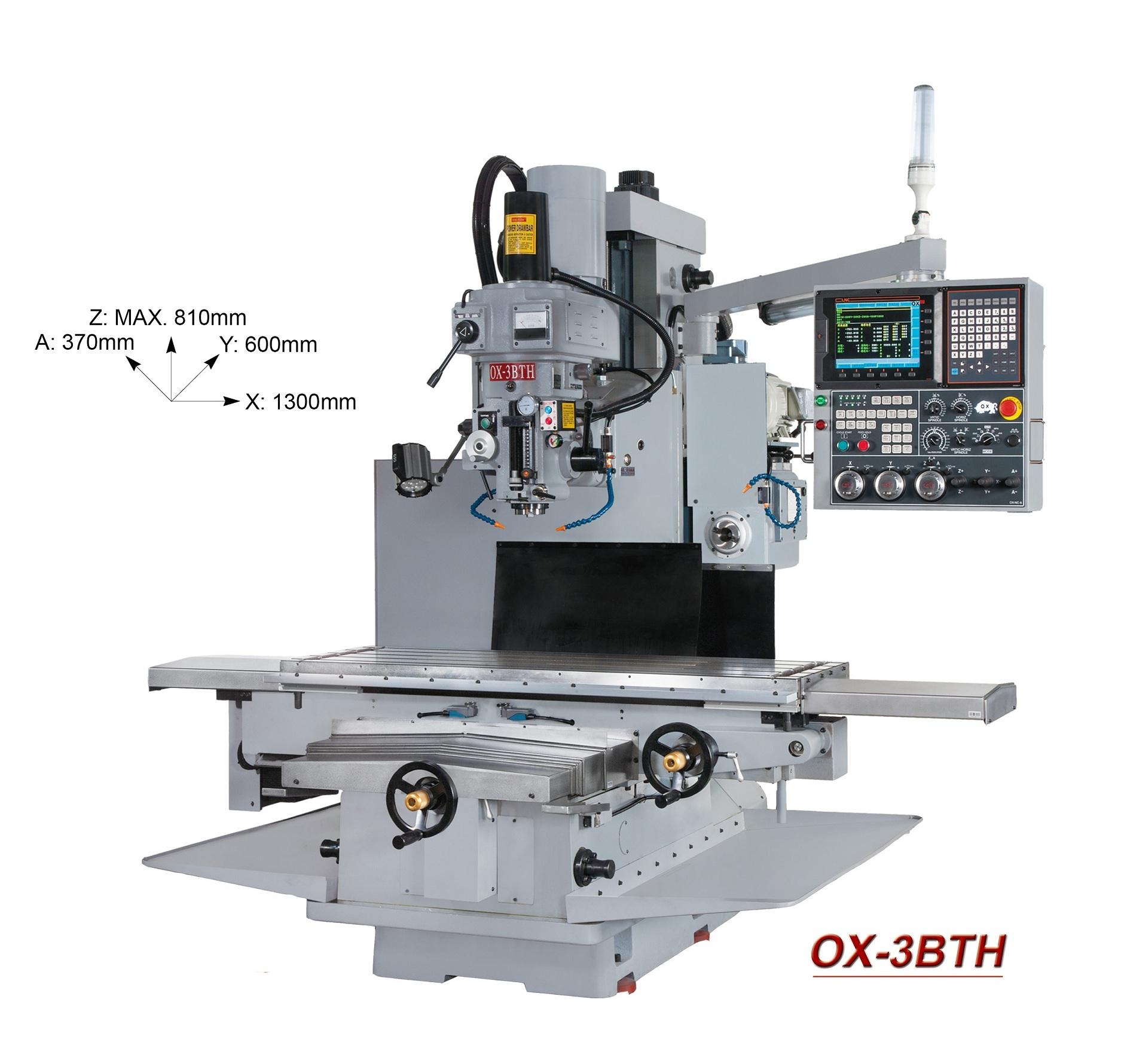 OX-CNC milling machine OX-3BTH
