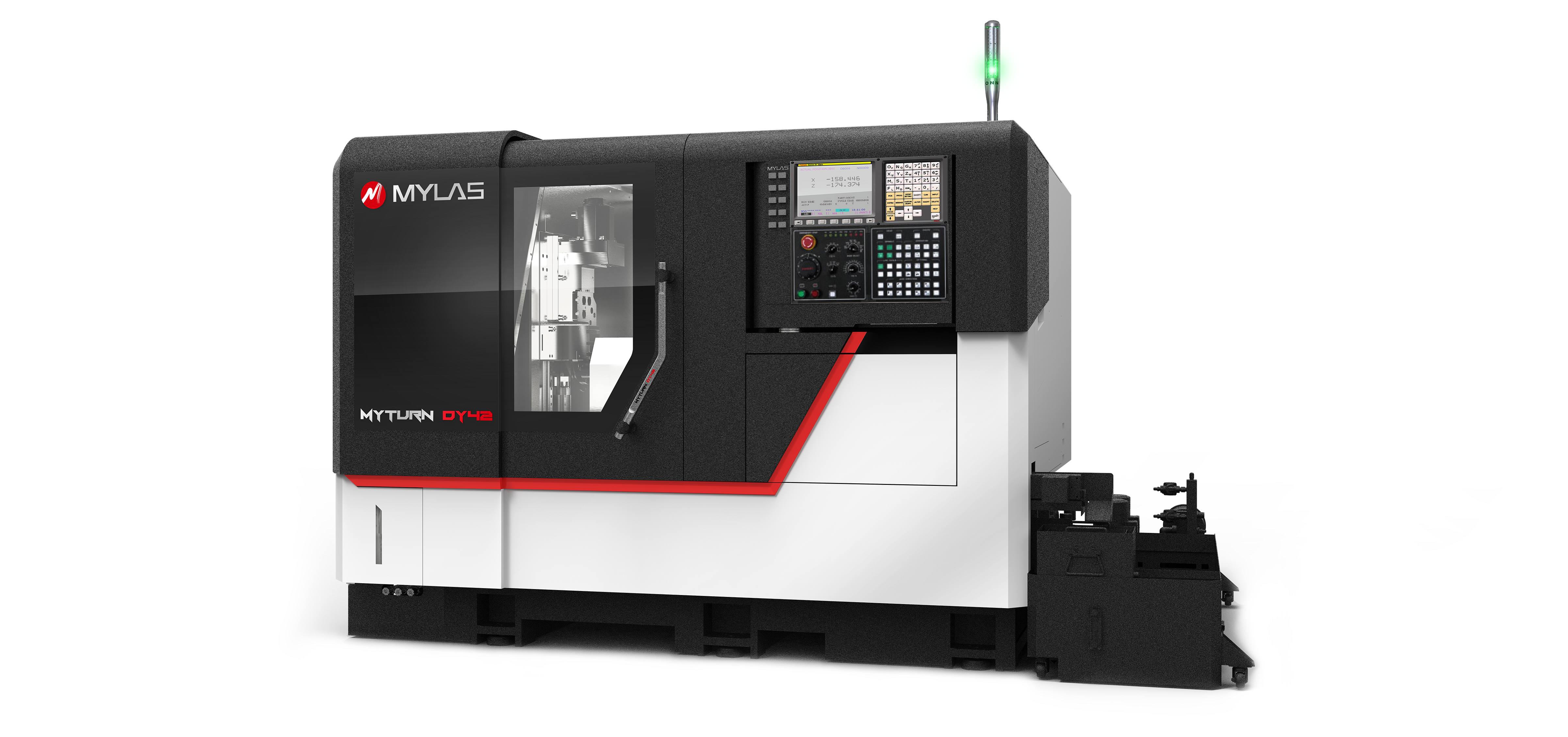 DY52 CNC Dual Y axis automatic lathe