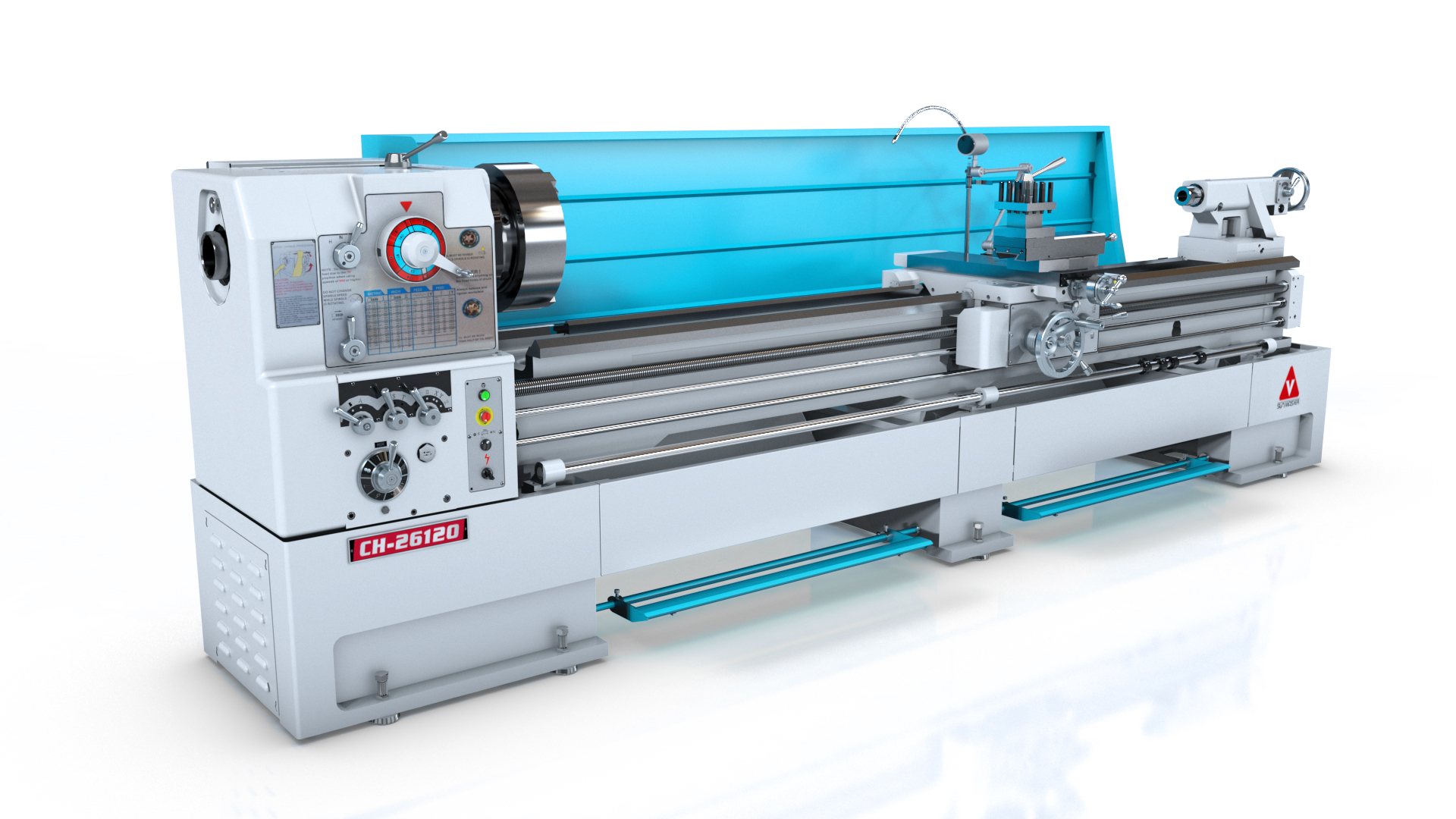 CH series Heavy Duty oil country lathe