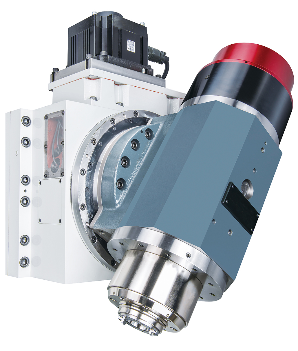 CNC SWIVELING SPINDLE HEAD