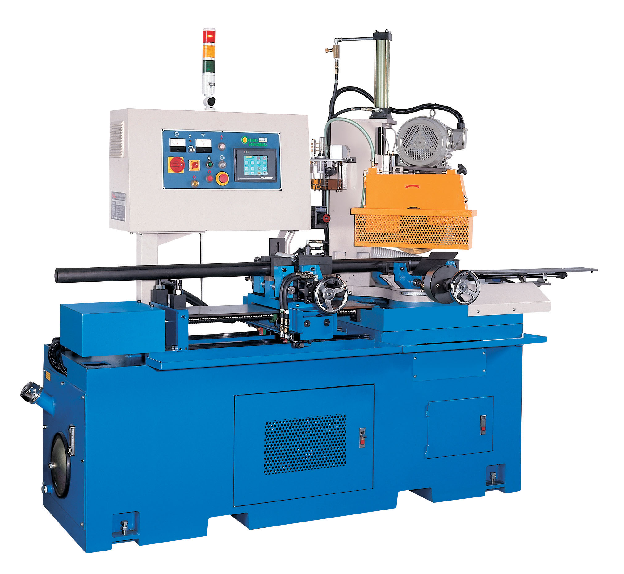 NC AUTOMATIC TYPE ANGULAR CIRCULAR SAWING MACHINE