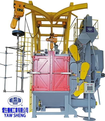 HANGING TYPE  SHOT BLASTING MACHINE