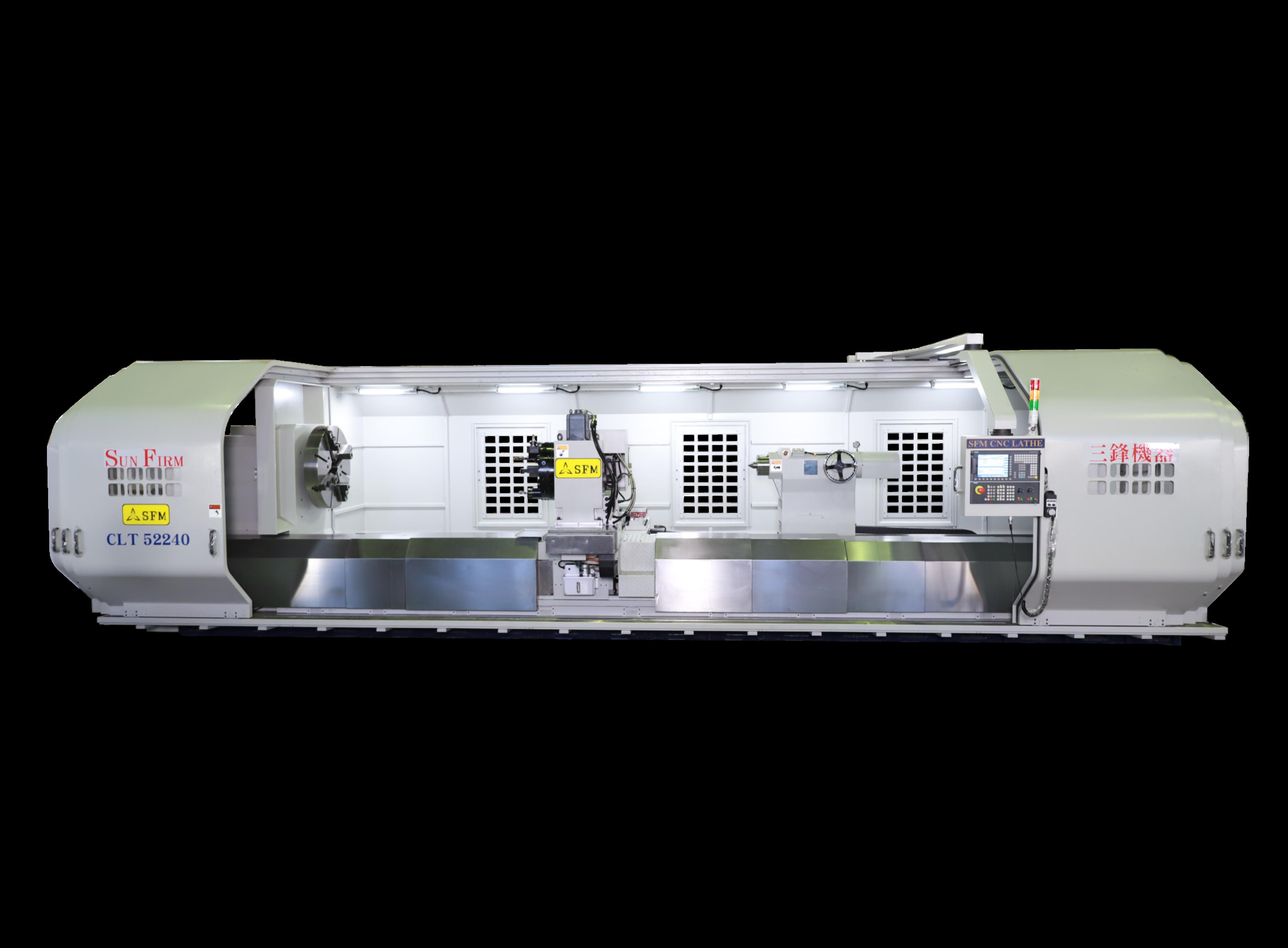 Multi-Axis Simultaneous Motion Multiple Guideways Heavy Duty Smart CNC Lathe