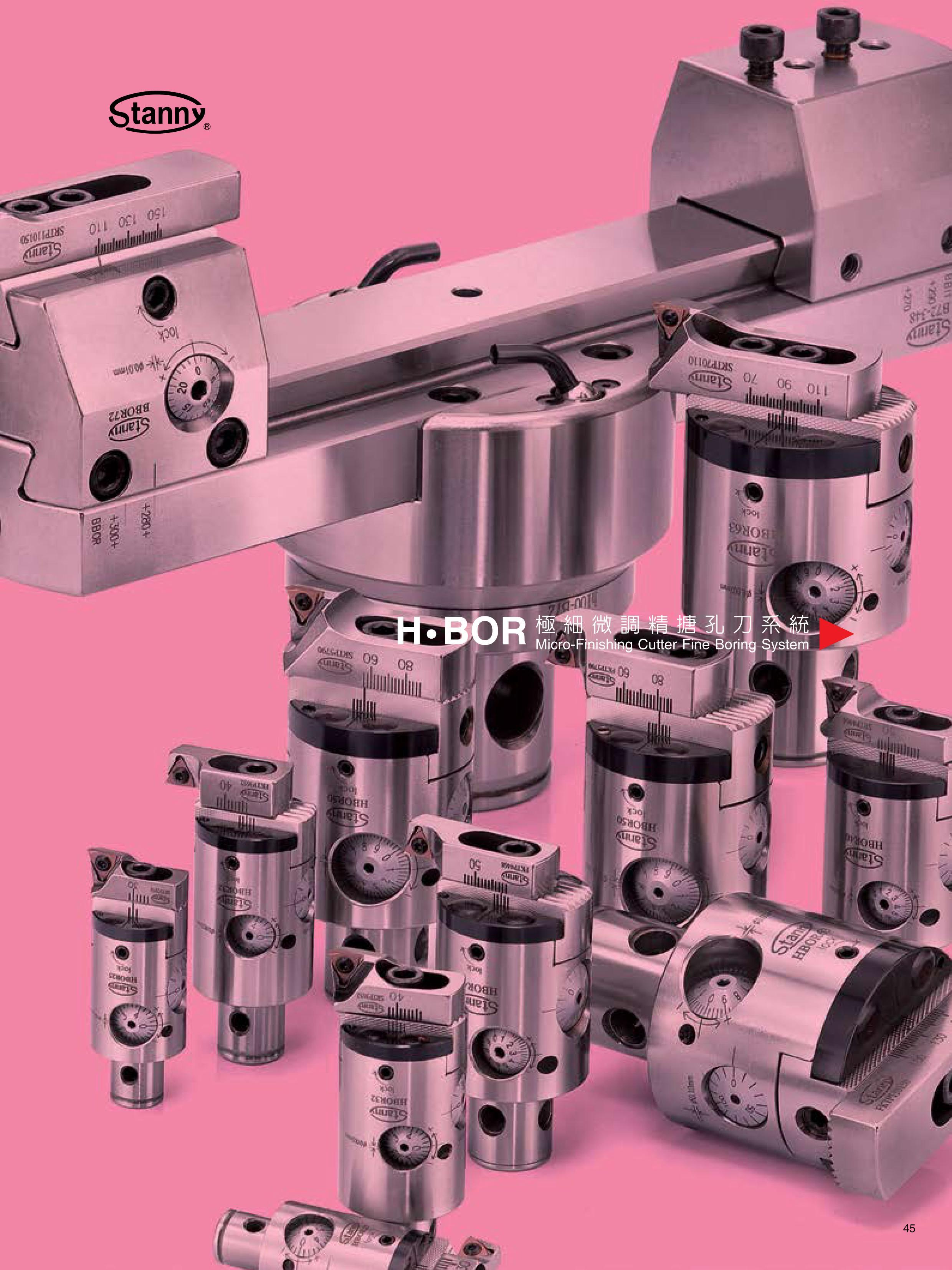Micro-Finishing Cutter Fine Boring System