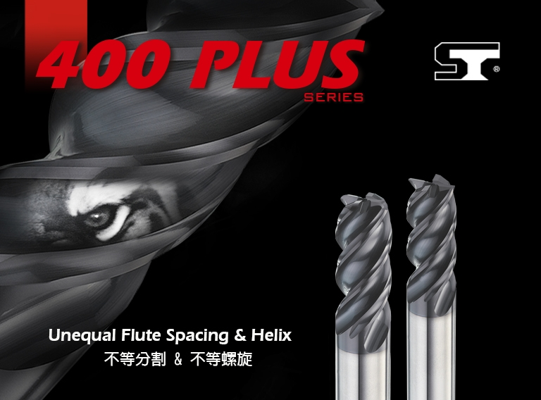 400Plus Series Unequal Flute Spacing & Helix