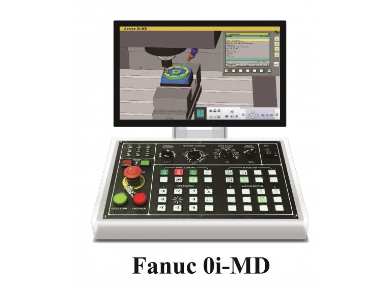 CNC桌上型模擬機-發那科0i-MD