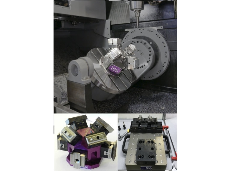 瑞士TRIAG:五軸工件夾持系統,Zero-Point夾具系統,彈性設計夾具系統。