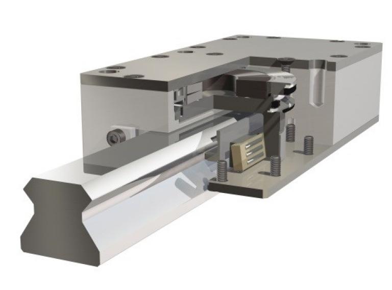 ROBA®-guidestop 線軌煞車