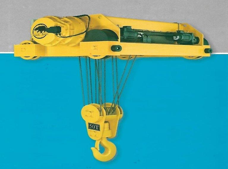 節能永磁式50噸電動鋼索吊車