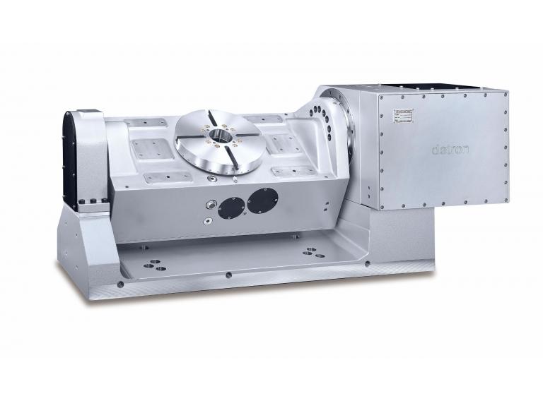 CNC 電腦數控五軸旋轉工作台(搖籃式) GTFAE-255SBL