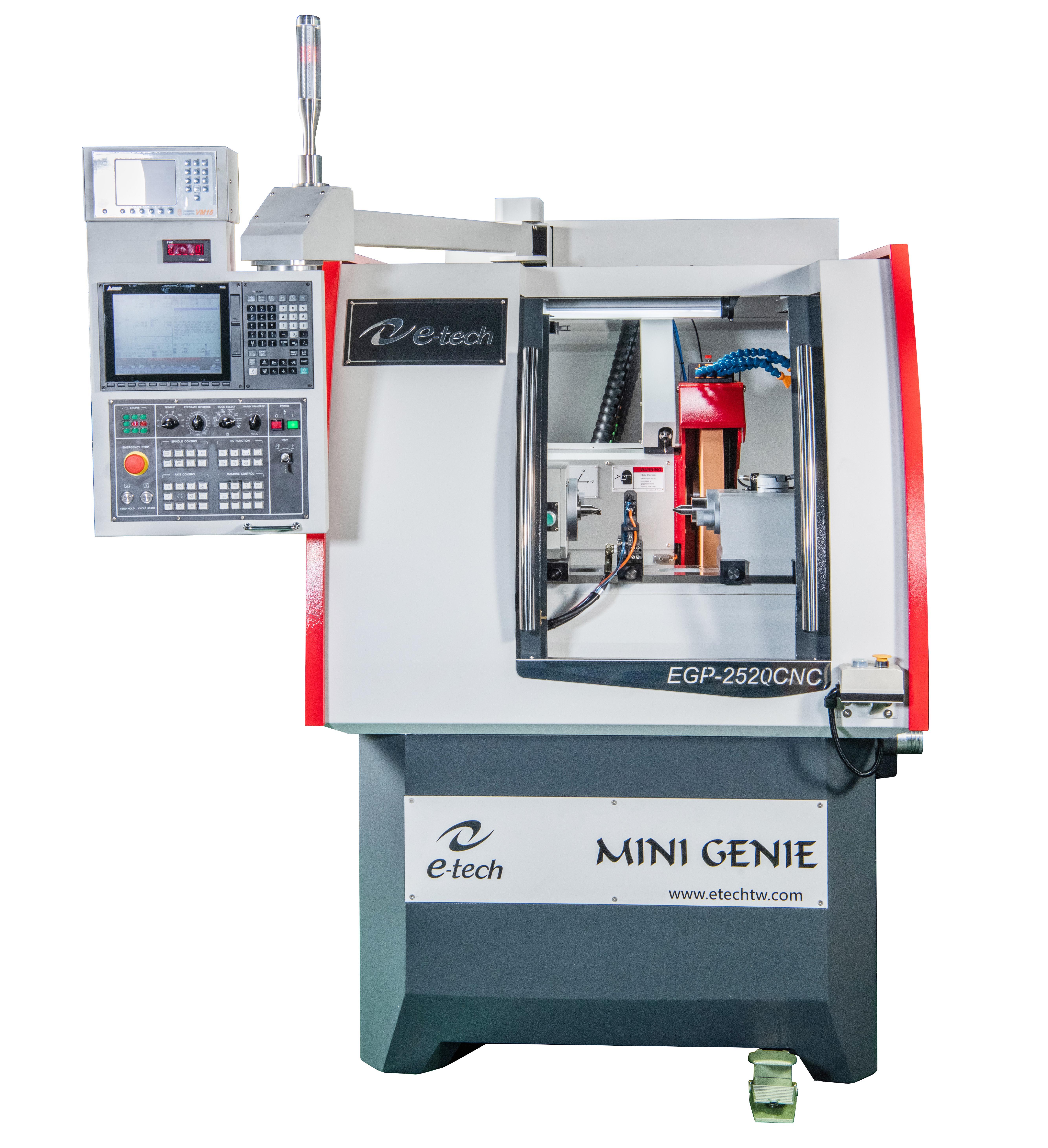 CNC Cylindrical Grinder: Mini Genie