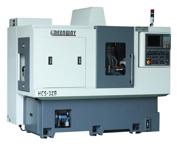 HCS-25/32B Dual-Spindle CNC Lathe