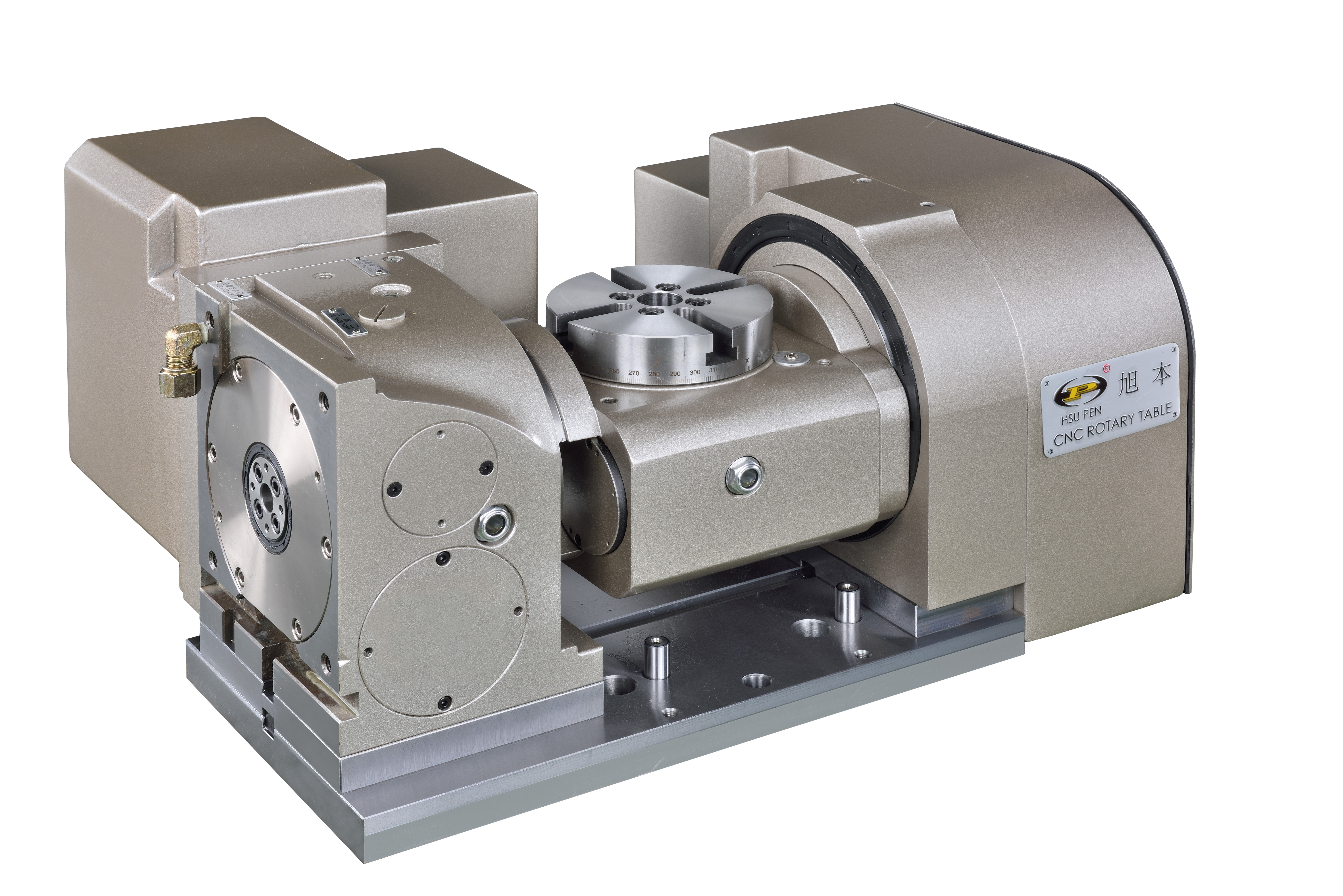 5-AXIS TILTING SWIVELING ROTARY TABLE