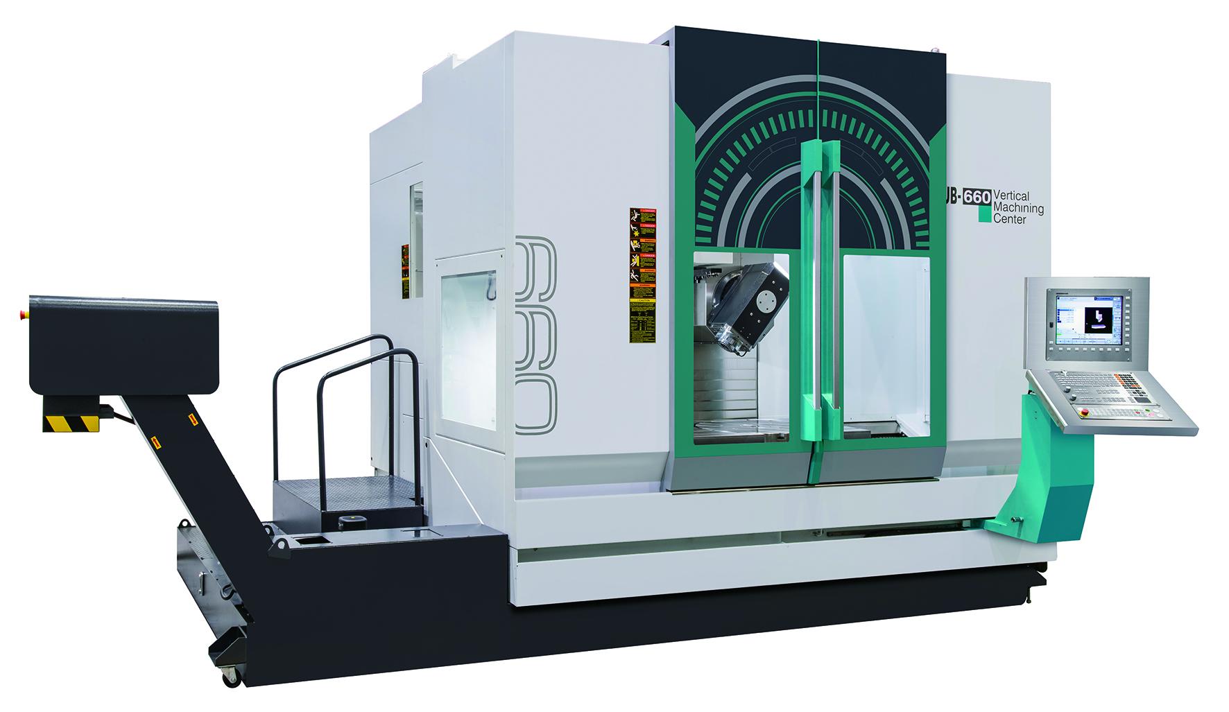 UB-660  5-Axis Vertical Machining Center