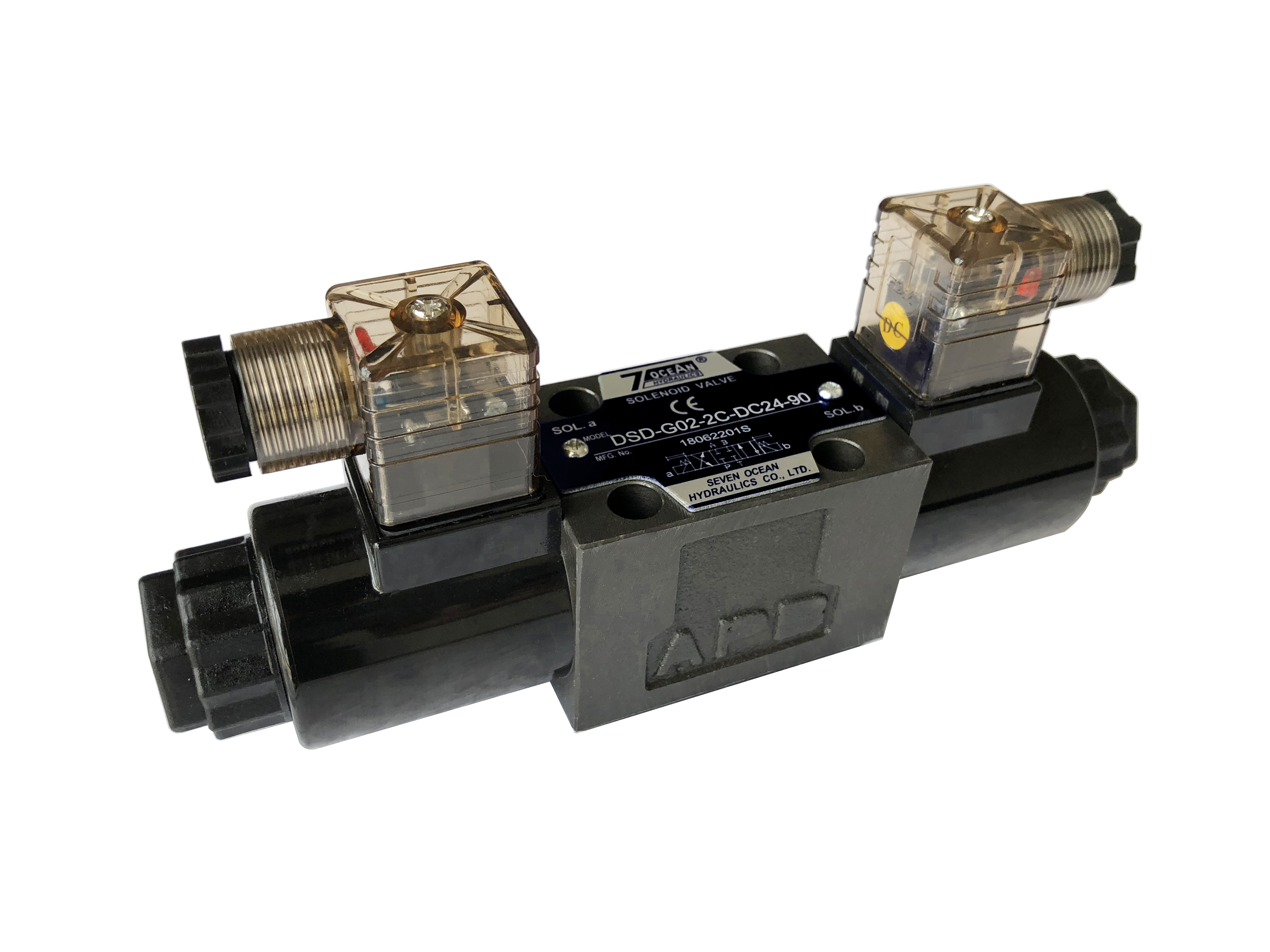 DSV/DSD-G02 Solenoid Operated Directional Control Valve