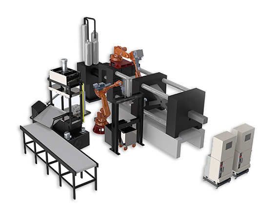 Automatic Solution for Die Casting